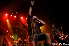 Eluveitie live at the Fonda Theater in Los Angeles