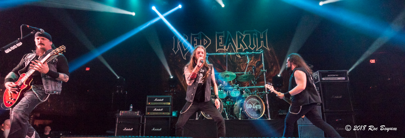 Iced Earth Belasco Theater Los Angeles