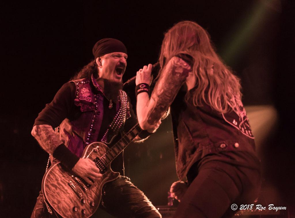 Iced Earth Jon Schaffer Stu Block Belasco Theater Concert Reviews