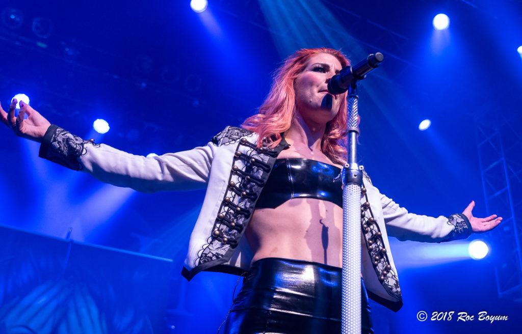 Delain Charlotte Wessels Condert Reviews Concert Photoghraphy