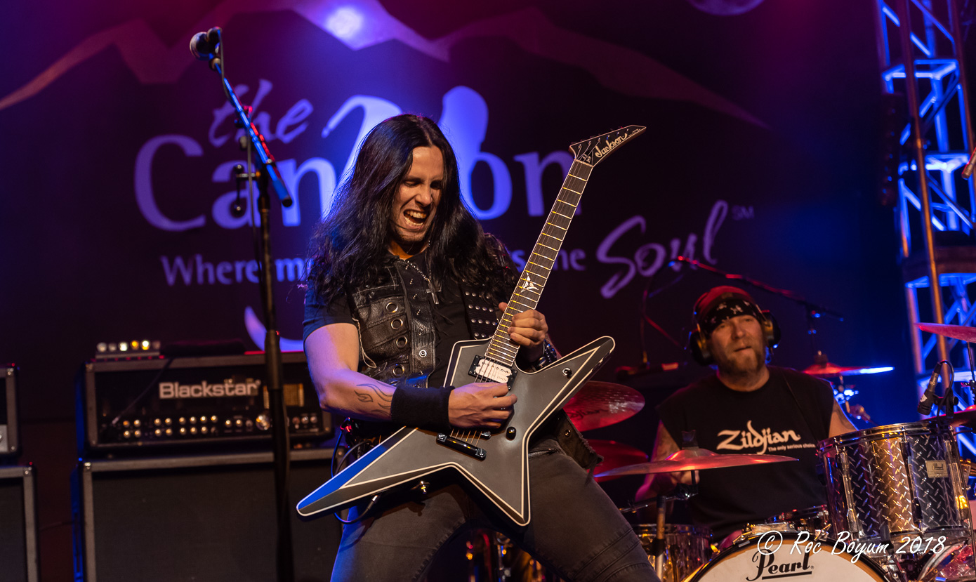 Gus G Arch Enemy Ozzy Osbourne Firewind Concertd photography concert reviews
